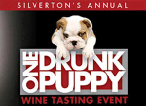 One Drunk Puppy Wine Tasting event.