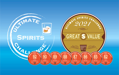 2021 Ultimate Spirits Challenge Announces Blue Marble Wins